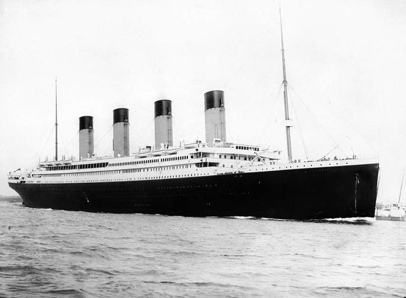 Titanic journeying