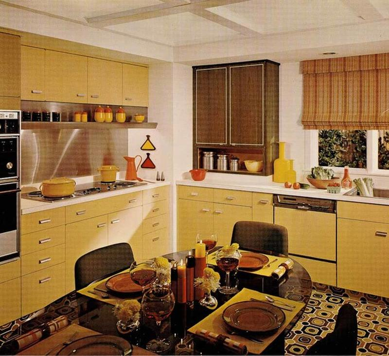Inside Peek Kate S Dining Room Kitchen: Photos Of Old Kitchens From 1860 To 1970