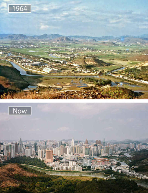 Cities Then and Now 6