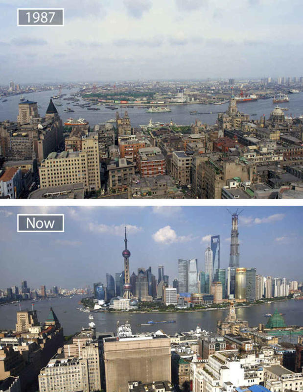 Cities Then and Now 5