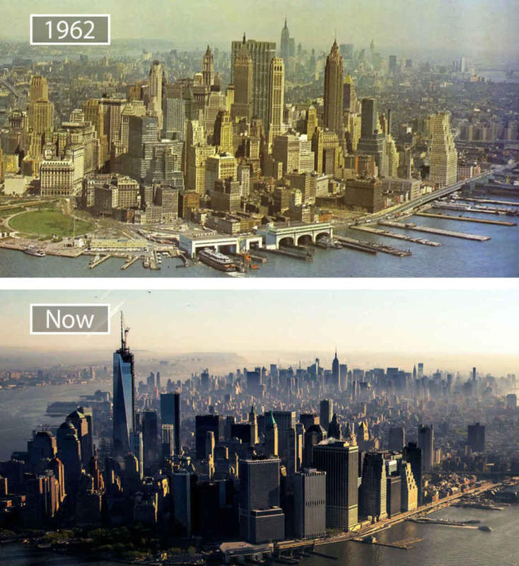 Cities Then and Now 13