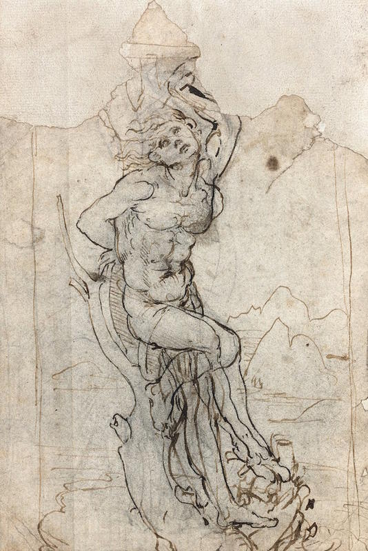 Leonardo da Vinci Drawing 2