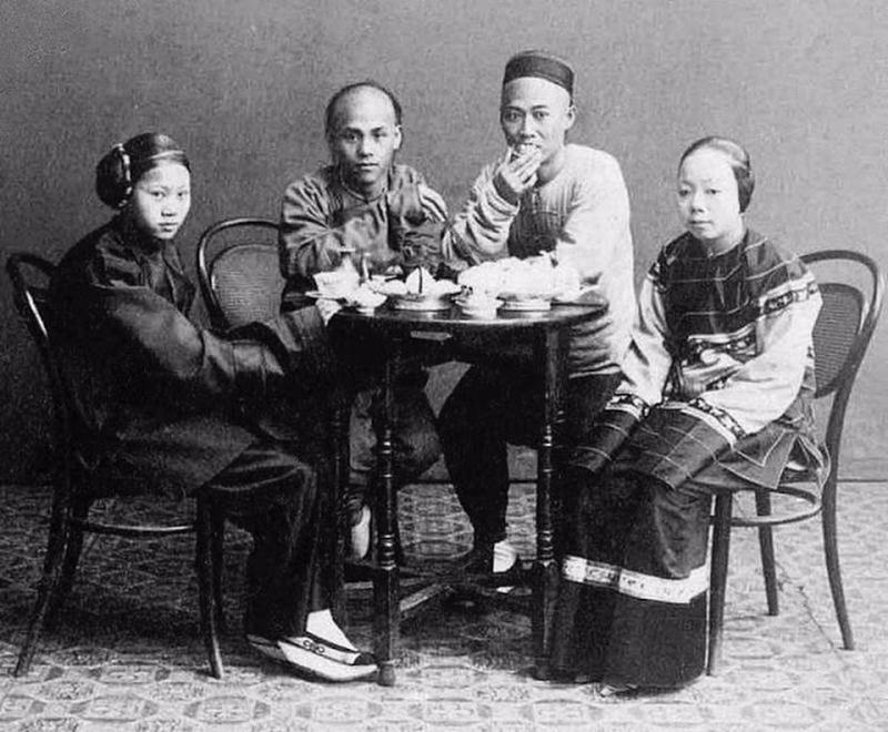 Chinese Women With Bound Feet 7
