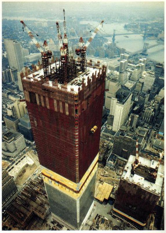 construction of twin towers 7