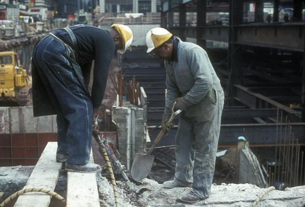 construction of twin towers 23