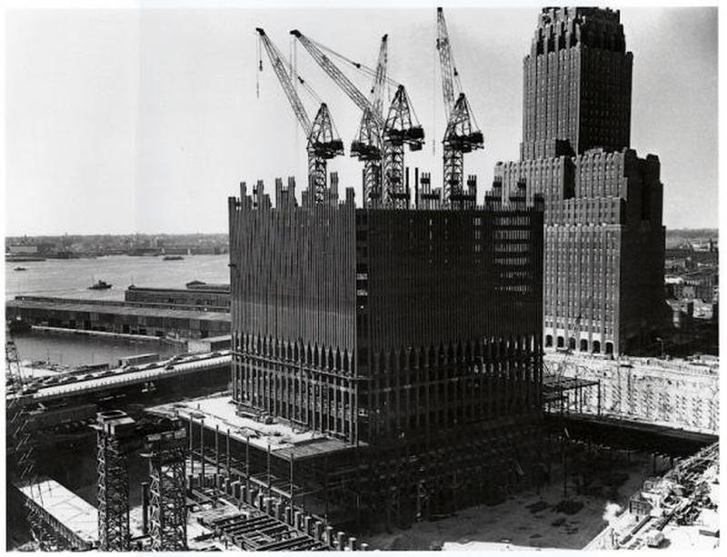 construction of twin towers 4