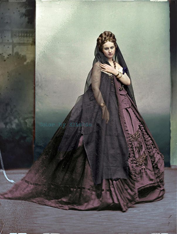 colorized victorian portraits 3