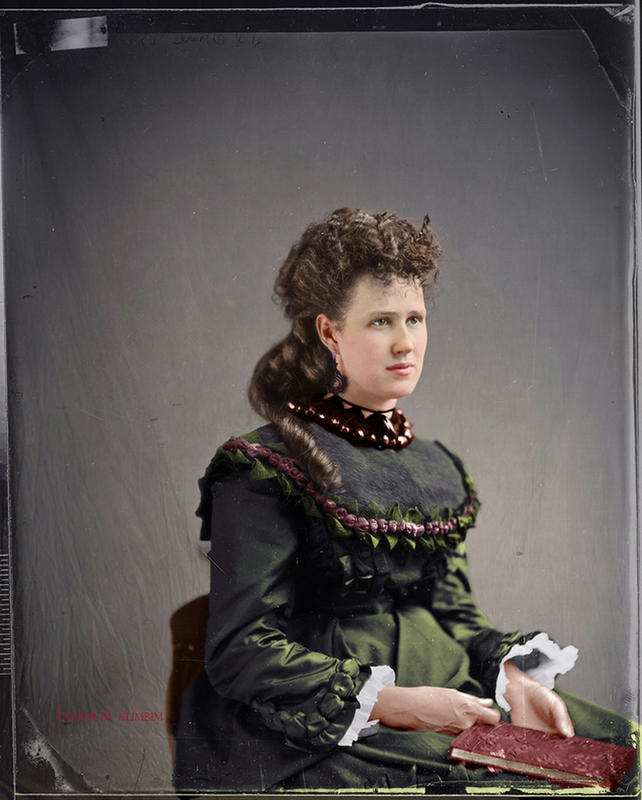 colorized victorian portraits 18