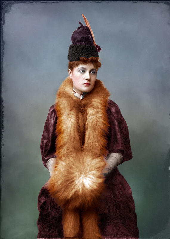 colorized victorian portraits 4