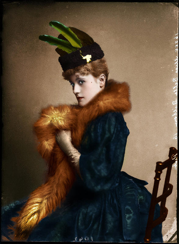 colorized victorian portraits 5