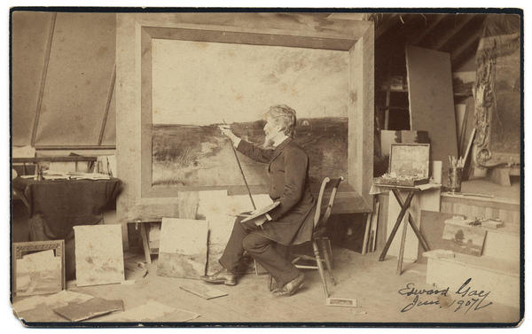 vintage-photos-of-artists-at-work-2