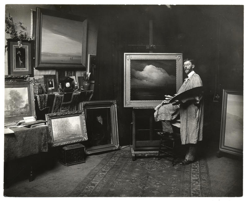 vintage-photos-of-artists-at-work-9