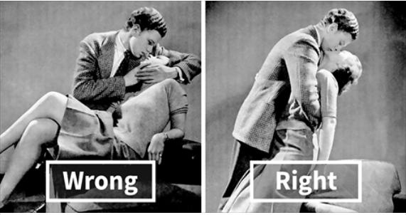1940S Guide On How To Kiss Correctly  History Daily-3134