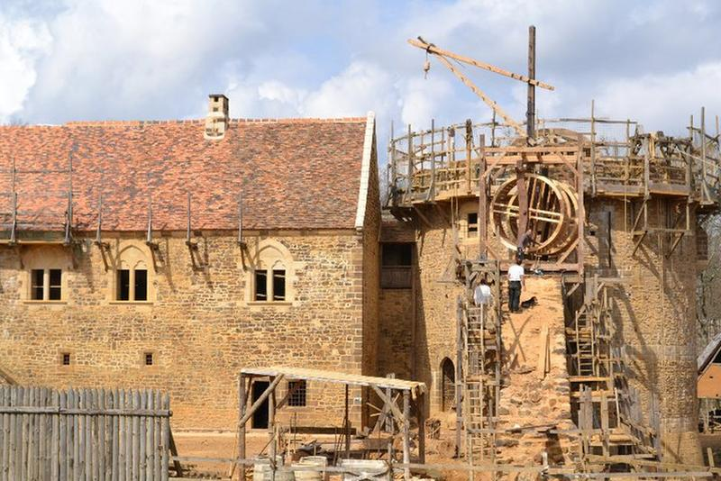 Guédelon, The Lost Castle That's Taking 25 Years to Rebuilt