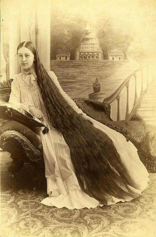 Photos of Victorian Women and Their Long Hair | History Daily