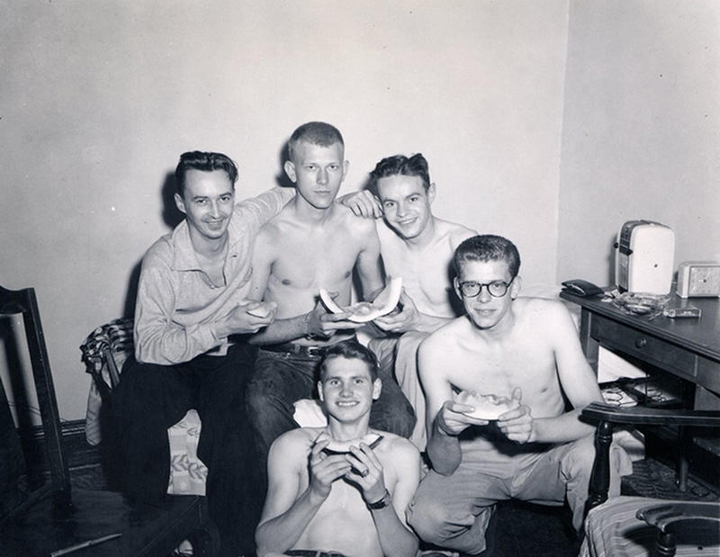 vintage dorm photos 13