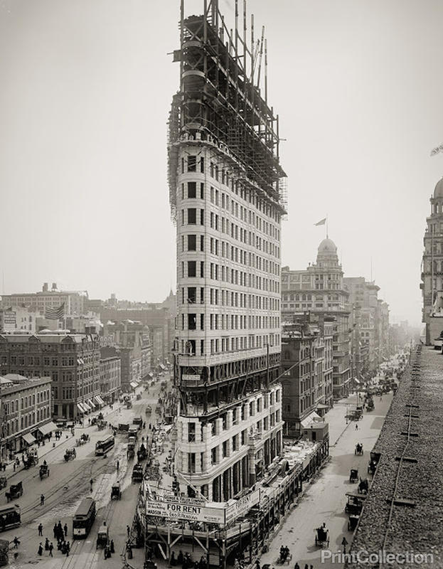 Flatiron Building Under Construction (6)