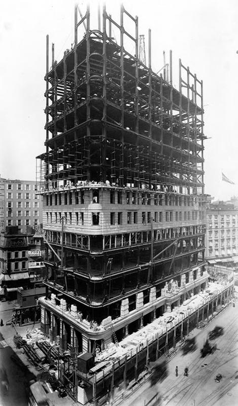 Flatiron Building Under Construction (1)