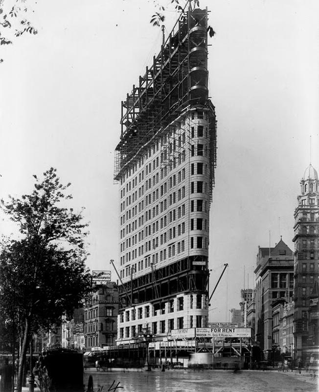 Flatiron Building Under Construction (4)