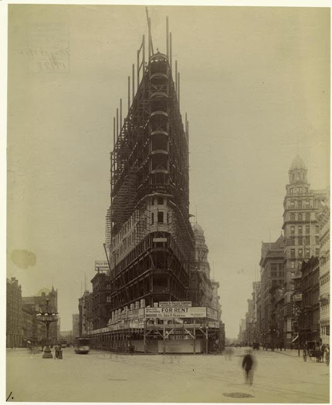 Flatiron Building Under Construction (7)