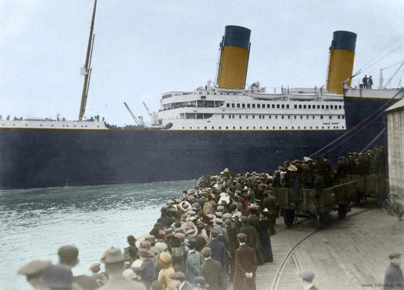 titanic in color 6