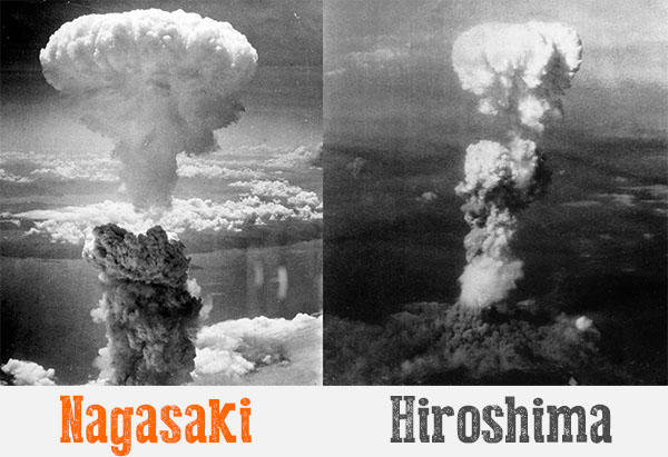 A history of atomic bombing in hiroshima and nagasaki
