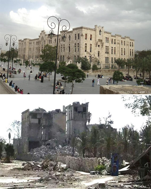 syria before after war 19