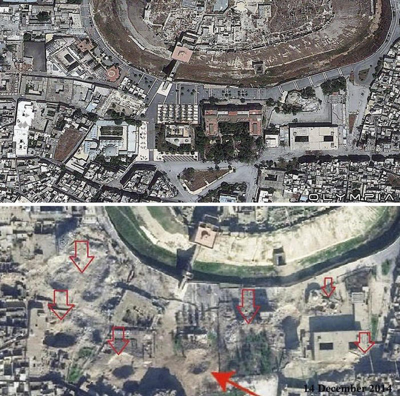 syria before after war 14