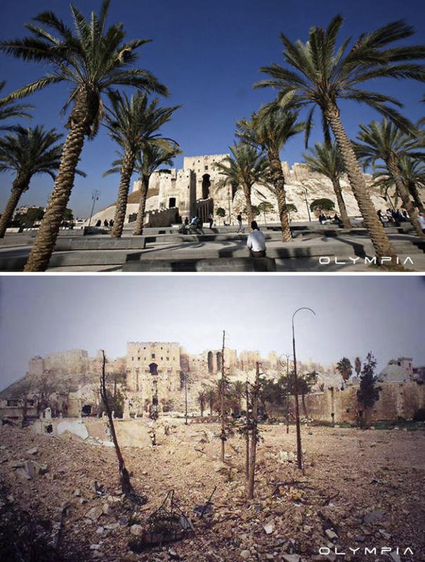 syria before after war 25
