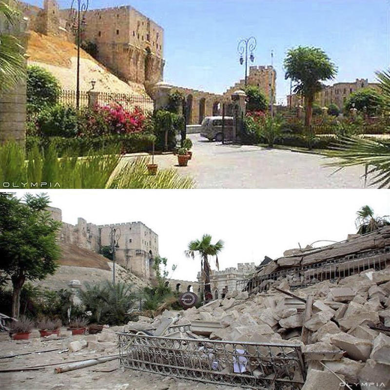 syria before after war 11