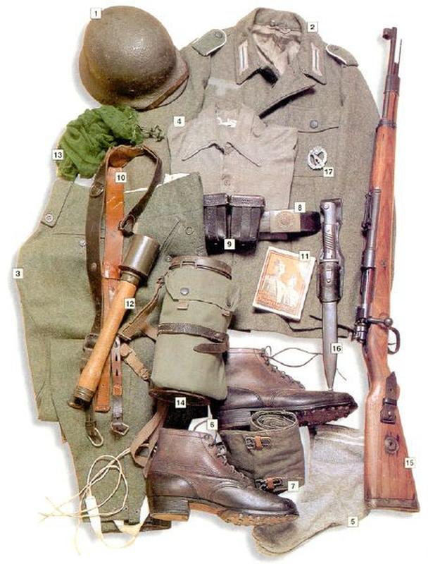 37 Military Uniforms Worn By Soldiers During World War II