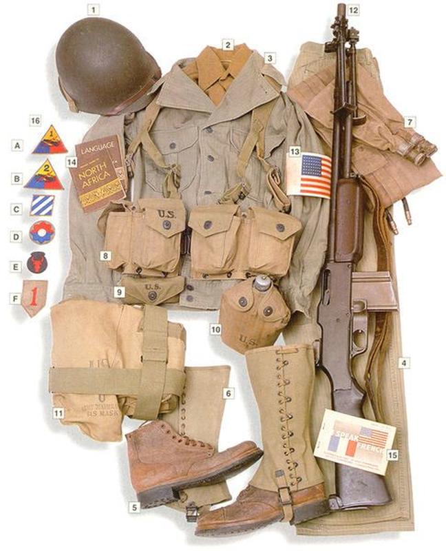 37 Military Uniforms Worn By Soldiers During World War II | History