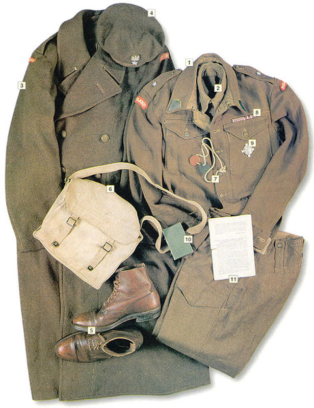 837cda1e6409 37 Military Uniforms Worn By Soldiers During World War II | History ...