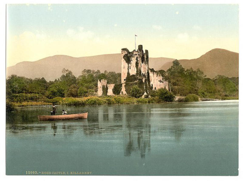 hundred yr old color photos of ireland (1)