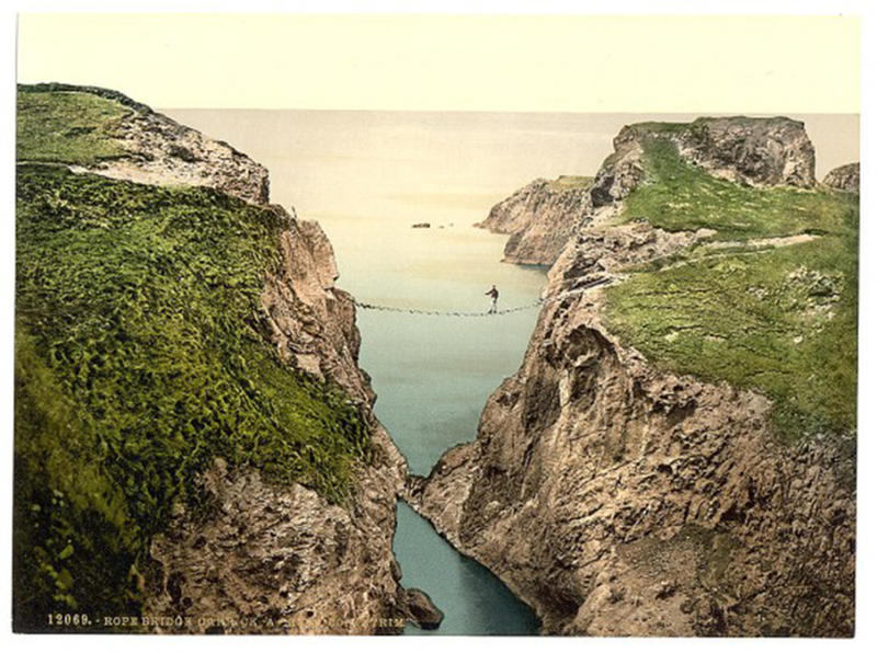hundred yr old color photos of ireland (4)