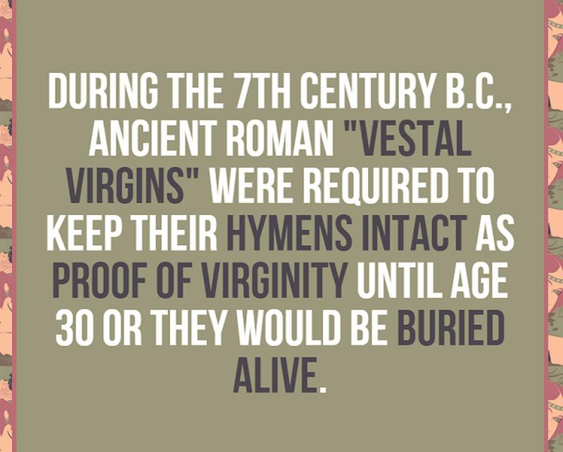 facts about ancient rome - virgins