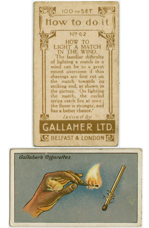 100 yr old lifehacks - match