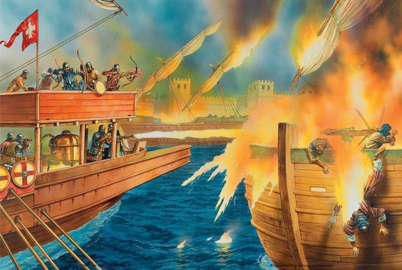 Greek Fire What Was This Powerful Ancient Weapon