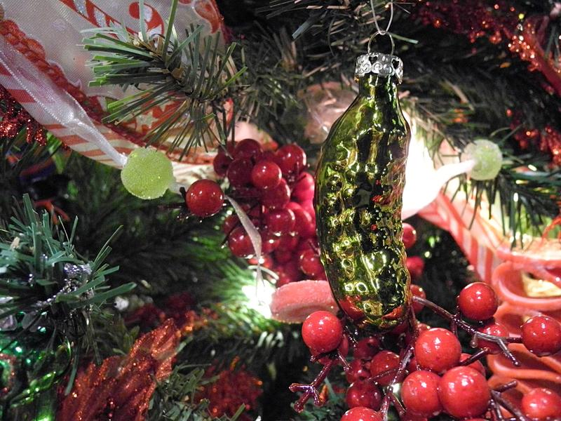 Christmas Pickle Tradition.The Legend Of The Christmas Pickle History Daily